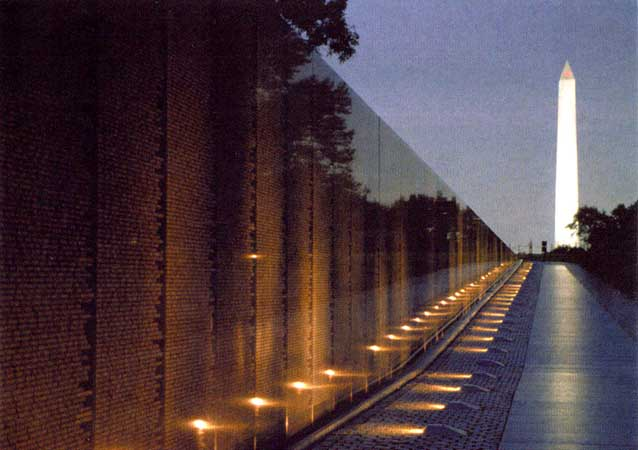 Who Designed The Vietnam Wall the 25th anniversary of the vietnam veterans memorial the wall designed Memorials